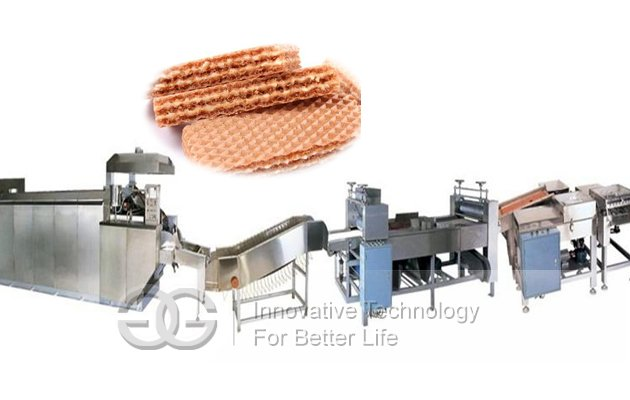 <strong>Gas Type Wafer Biscuit Processing Line GG-15</strong>