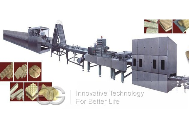 <strong>45 Mould Electric Heating Wafer Biscuit Production Line</strong>