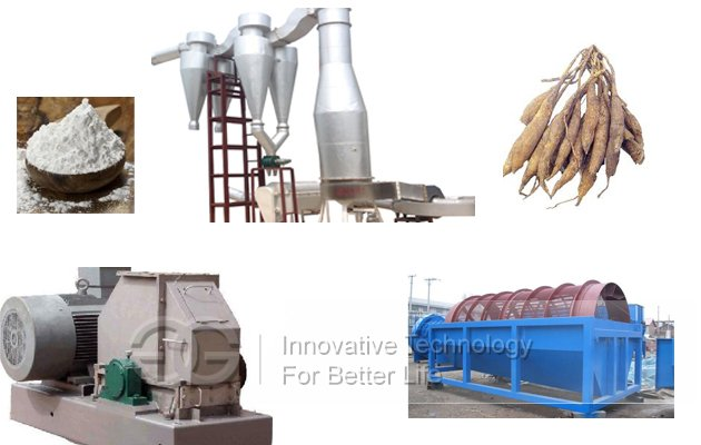 Cassava Starch Processing Line