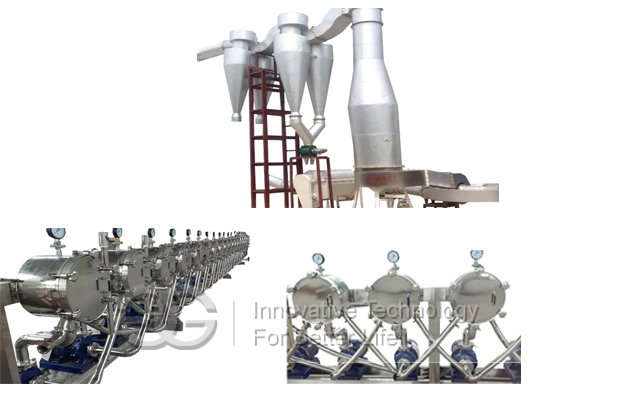 Corn Starch Processing Making Machine