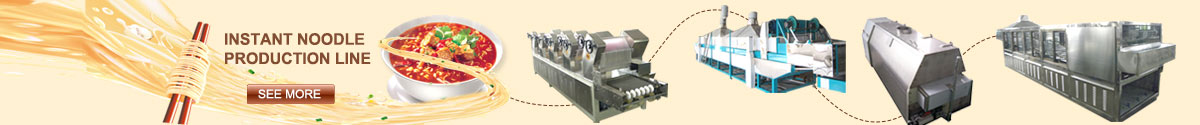 Automatic Instant Noodle Making Line