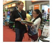 Customers Visit Our Exhibition In Shanghai
