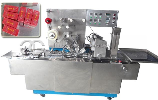 Plastic Film Wrapping Machine for Cigarette Box