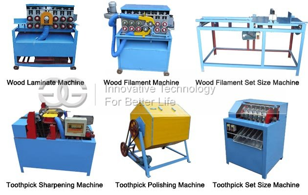 Wooden Toothpick Processing Machine Line for Sale