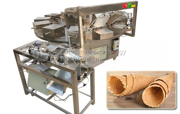 Ice Cream Cone Rolling Machine