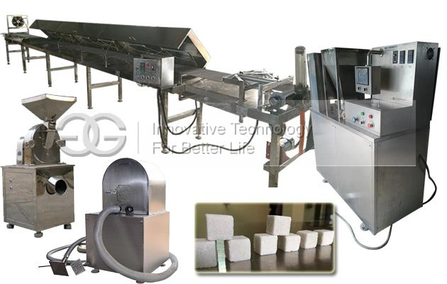 <b>Automatic Sugar Cubes Production Line</b>