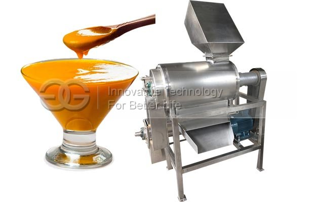 Industrial Fruit Mango Pulp Making Machine|Fruit Pulper Machine