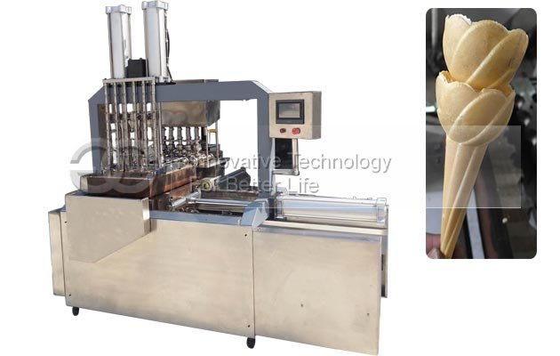 <b>Automatic Ice cream Cone Wafer Baking Machine</b>