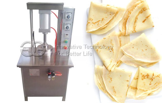 Roasted Duck Pancake Making Machine|Crepe Maker Machine