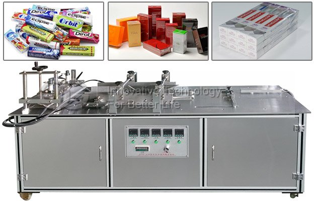 Manual Cellophane Overwrapping Machine for Chewing Gum
