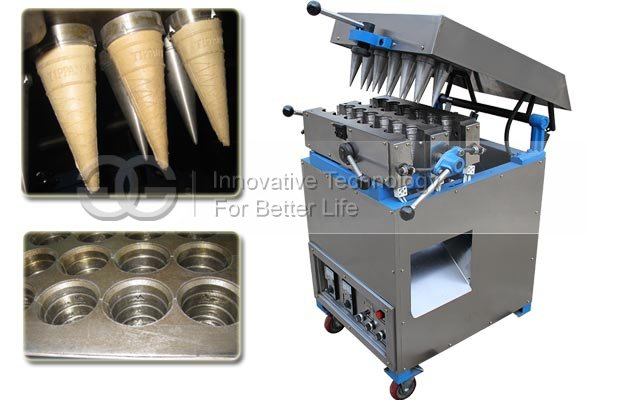 12 Head Ice Cream Cone Maker