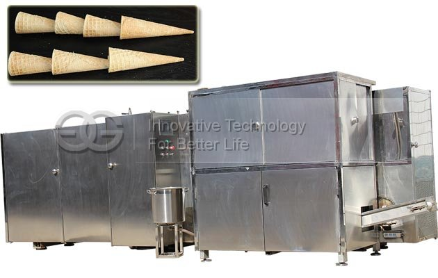 Automatic Rolled Ice Cream Cone Product Line