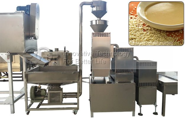 Advanced 1000 kg/h Sesame Tahini Production Line for Sell