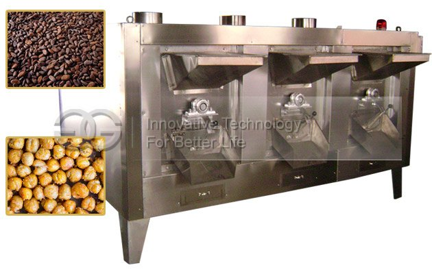 Automatic Cocoa Bean Roaster|Chickpeas Roasting Equipment with Factory Price