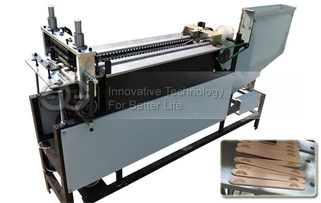 Automatic Ice Cream Stick Branding Machine