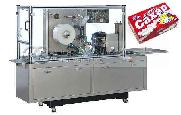 Cube Sugar Box Bopp Film Cellophane Wrapping Machine