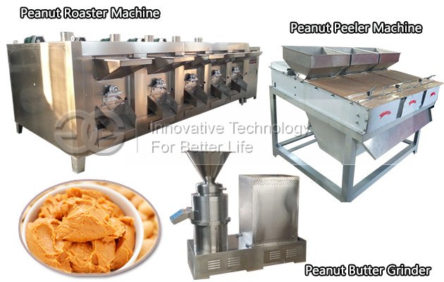 High Quality 500 kg/h Peanut Butter Production Line for Sell!