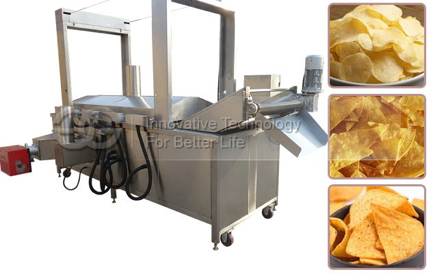 Gas Heating Corn Chips Frying Machine Manufacturer in China