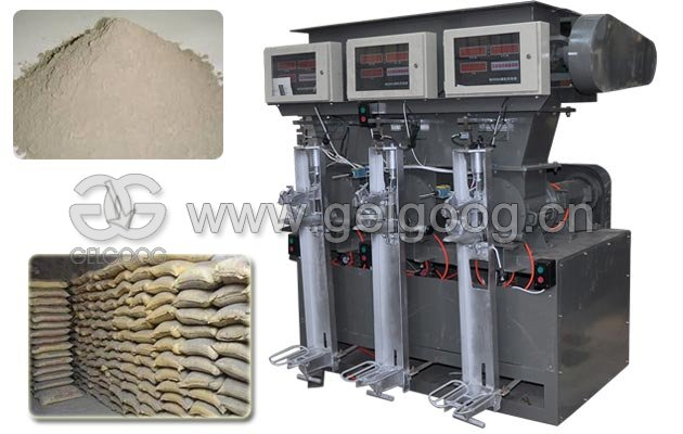 Three Spout Cement Packer Machine,Fixed Cement Packing Machin