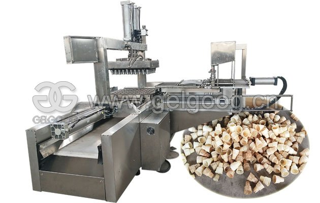 Automatic Wafer Ice cream Cone Product Line