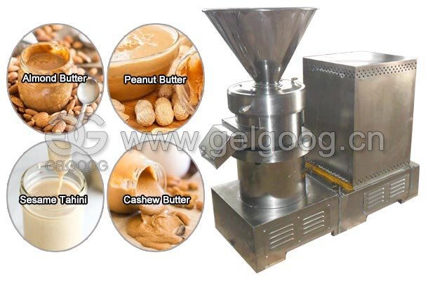 Commercial Stone Grinding Machine for Nut Butters