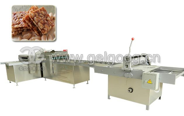 Stainless Steel Peanut Brittle Making Cutting Machine