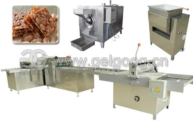 Commercial Semi-automatic Peanut Candy Production Line