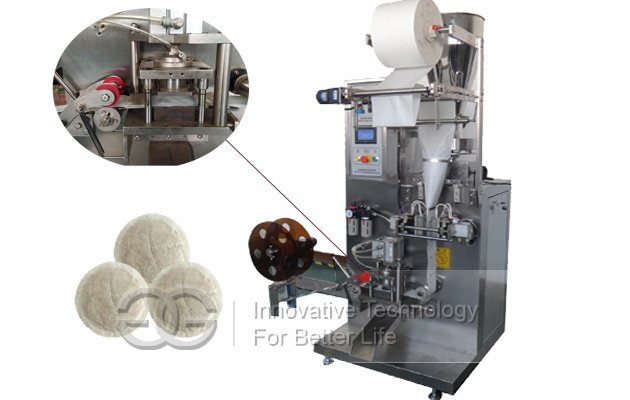 Automatic Round Tea Bag Packaging Machine