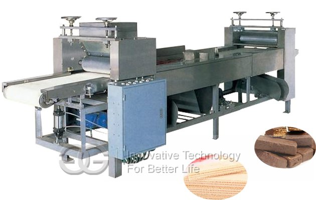 63Mould Electric Heating Wafer Biscuit Production Line