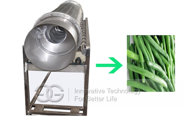 Green Bean Head And End Cutting Machine Commercial