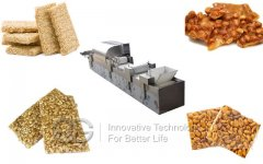 Full Automatic Peanut Brittle Making Machine