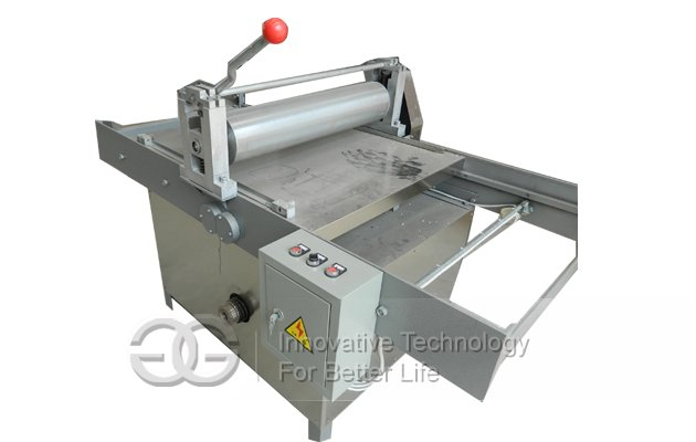 Stainless Steel Peanut Brittle Making|Cutting Machine
