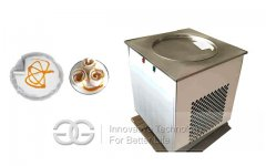 Big Pan Fried Ice Cream Machine 60cm