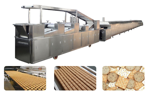 250kg Biscuit Product Line in China