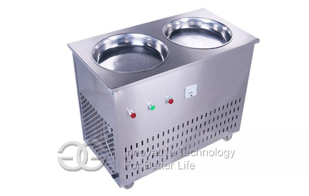 Ice Cream Frying Machine