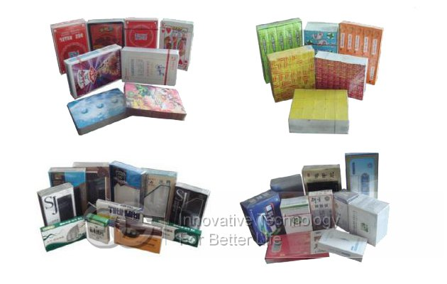 Automatic Cigarette Case Cellophane Packing Machine