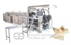 <b>Automatic Ice cream Cone Wafer Baking Oven</b>