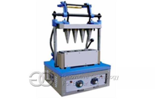 Ice Cream Cone Making Machine 4 Head