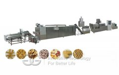 <b>Automatic Puffed Snack Food Production Line</b>
