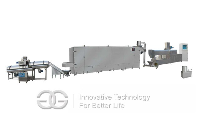 fish feed processiing line