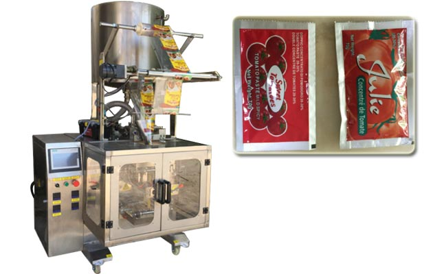 Tomato Paste Packaging Machine,Sauce Paste Packing Machine,Chilli Sauce Packer