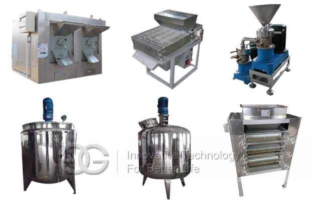 Hot Selling Peanut Butter Making Machine Product Line(200 KG/Hour)