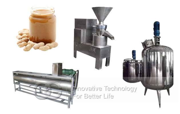 Peanut butter Making Machine Production Process
