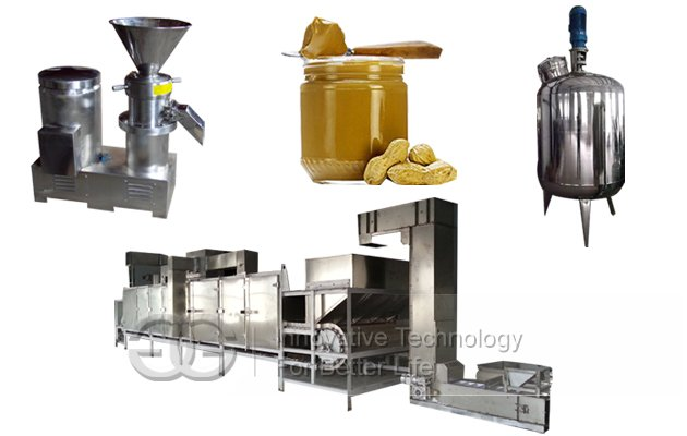 High Efficiency Peanut Butter Production line(500 kg/h)