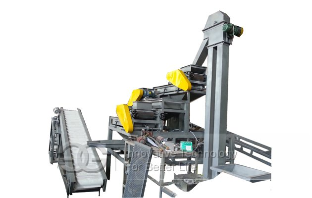 Almond Three-Stage Shelling Machine on Sale