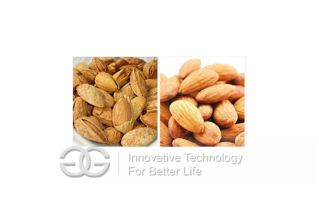 High Efficiency Almond One-Stage Shelling Machine