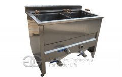 Potato Chips Deep Frying Machine