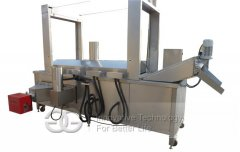 Continuous Peanut Frying Machine, Churros Frying Machine