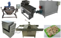 <strong>Multi-purpose Semi-automatic Commercial Groundnut Brittle Making Machine</strong>