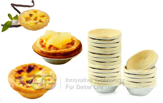 Easy Operation Egg Tart Skin Forming Machine
